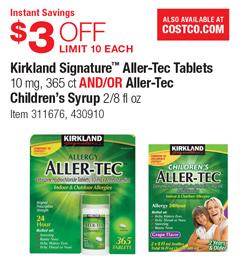 Kirkland coupons in store