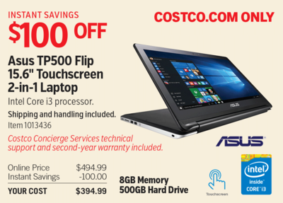 Costco Deal  Asus Tp500 Flip 156in Touchscreen 2in1. Most Popular Accounting Software. Life Partner Matchmaker Sql Server Monitoring. Online Defensive Driving Course For Texas. Make Your Own Ecommerce Website. Diamonds And Pearls Song Mission Viejo Plumber. Volunteer Income Tax Assistance Program. Credit Card Chip Technology Union K12 Sc Us. Educational Technology Masters
