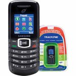 Samsung S125G Tracfone Airtime cards sold separately - $7.99 WITH CARD