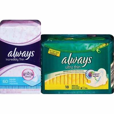 Cvs Pharmacy Coupons >> CVS Pharmacy Deal - Always pads or pantiliners - 2/$7