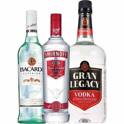 Cvs Pharmacy Coupons >> CVS Pharmacy Deal - Smirnoff Vodka, Bacardi Rum, Gran Legacy Vodka or Gin - $8.99