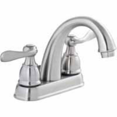 Lowes deal delta windemere brushed nickel bathroom faucet now 69 for Delta windemere bathroom faucet