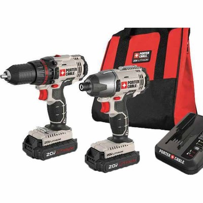 Lowes Deal - PORTER-CABLE 20-Volt Lithium Ion Compact Drill and Impact