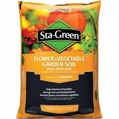 Lowes deal sta green 1 cu ft flower vegetable garden soil now 3 for 10 for Sta green garden soil