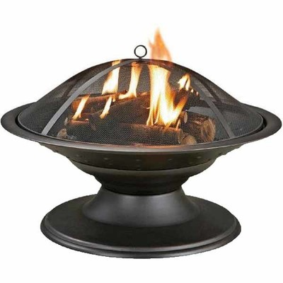 Lowes Deal Garden Treasures Steel Fire Pit Now 39
