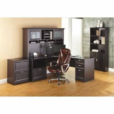 Officemax Deal Realspace Magellan Performance L Desk Hutch Bundle 71 W