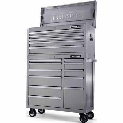 Sears Deal Craftsman 40 In 16 Drawer Premium Heavy Duty