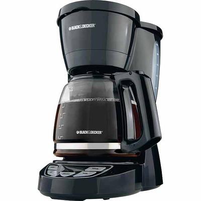 Coffee Maker Black Friday : Walmart Deal - Black & Decker 12-Cup Programmable Coffee Maker - USD 9.44