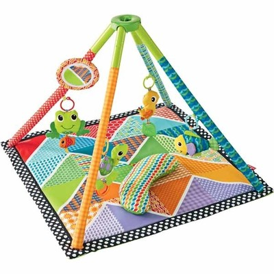 Infantino 174 Topsy Twist And Fold Activity Gym And Play Mat