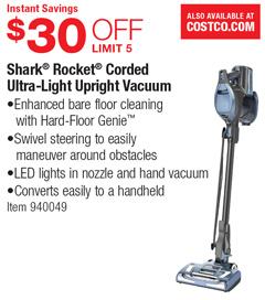 shark rocket corded ultralight upright vacuum 30 off - Shark Rocket Ultra Light