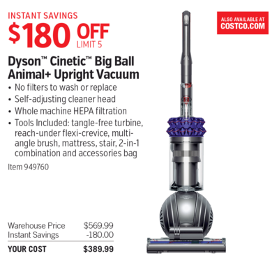 dyson cinetic big ball animal upright vacuum - Dyson Cinetic