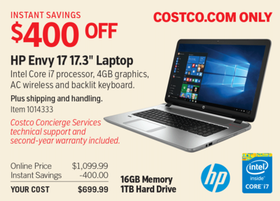 Computers Buy a TV, PC or major appliance and Costco extends the manufacturer's warranty for two years If you purchase with your Costco Anywhere Visa® Card by Citi, you extend your warranty* coverage for an additional 2 years.
