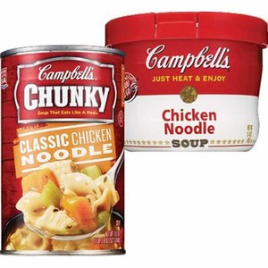 CVS Pharmacy Deal Campbells Soup on the Go microwave bowl or