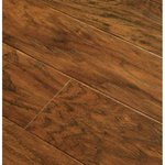 Lowes Deal Allen Roth Handscraped Chestnut Laminate