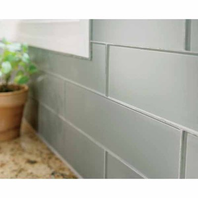 Lowes Deal - allen + roth 3 x 12 Smoke Glass Wall Tile Actual: 2.94 ...