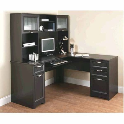 Officemax Deal Realspace Magellan 226 L 226 Desk And Hutch