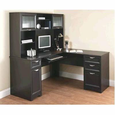 "OfficeMax Deal - Realspace Magellan ""L†Desk and Hutch Bundle - $279.98"