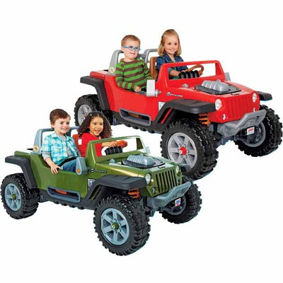 toys r us deal - save $150 power wheels jeep hurricane ride-on