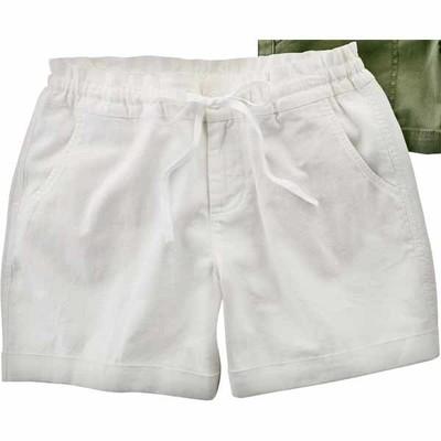 Walmart Deal - Ladies' Faded Glory Soft Linen Shorts - $12.94