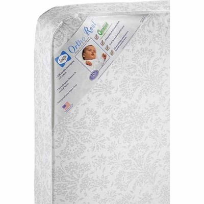 187 Sealy Ortho Rest Crib Toddler Bed Mattress Comfortable