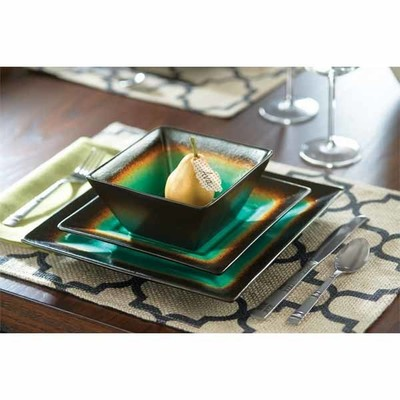 Better Homes and Gardens® Jade Crackle 16-pc Dinnerware Set - $49.99  sc 1 st  MyStore411 & Walmart Deal - Better Homes and Gardens® Jade Crackle 16-pc ...